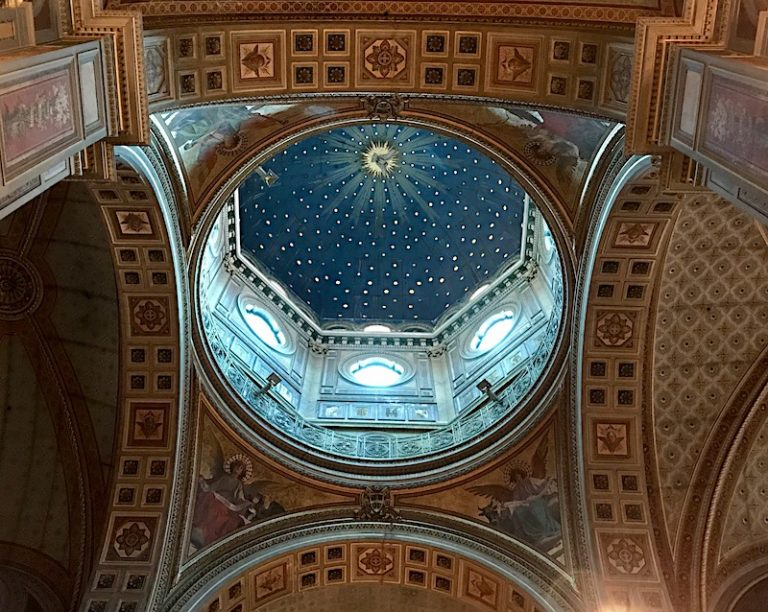 Dome of San Gioacchino ai Prati Castello in Rome