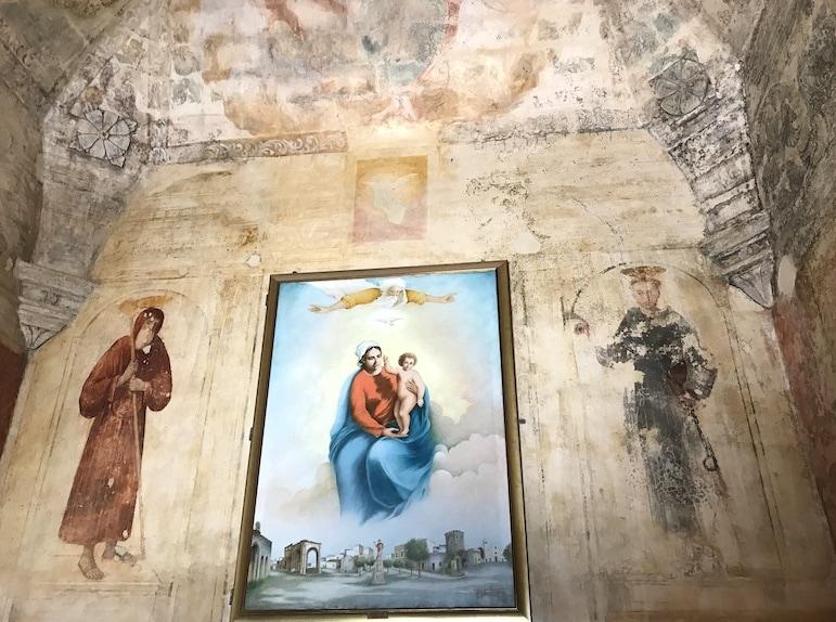 Interior of Santa Maria di Leuca del Belvedere