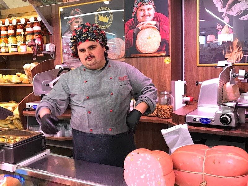 King of Mortadella Punta Risparmio Supermercato