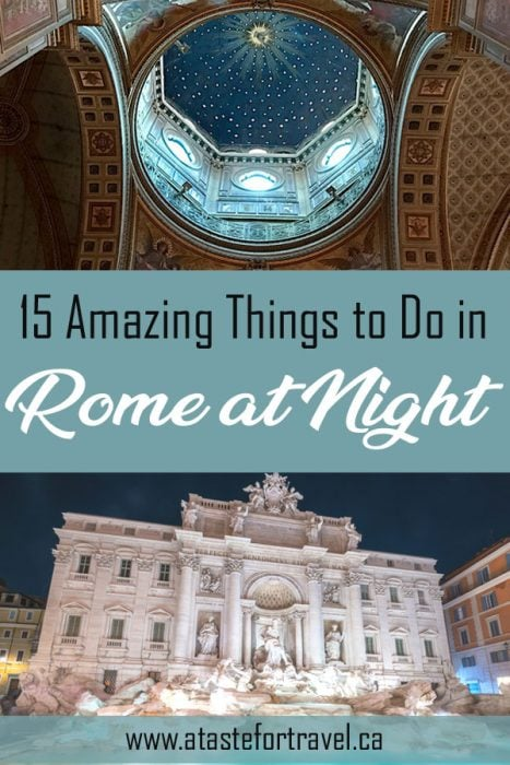 Best Nightlife in Rome