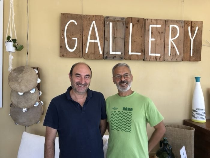 Geremia de Giuseppe and Phillipo Messina of Celacanto in Salento