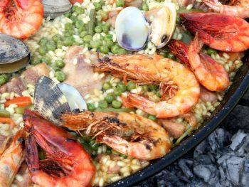 seafood paella in Valencia