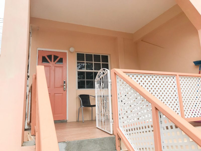 Bougainvillea Apartment #5 porch