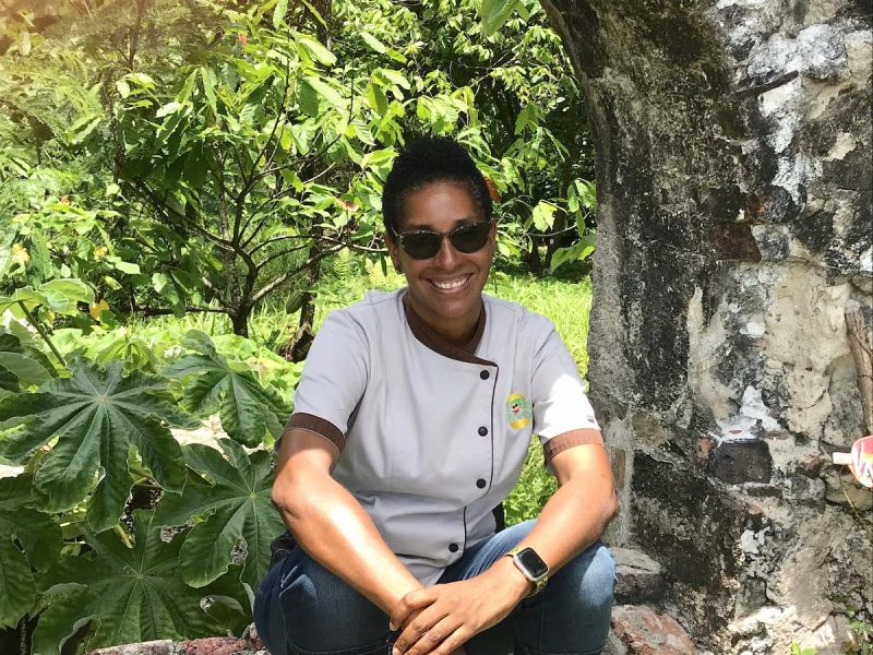 Chef Belinda of Chef Belinda of Flavours of Grenada Food Experiences