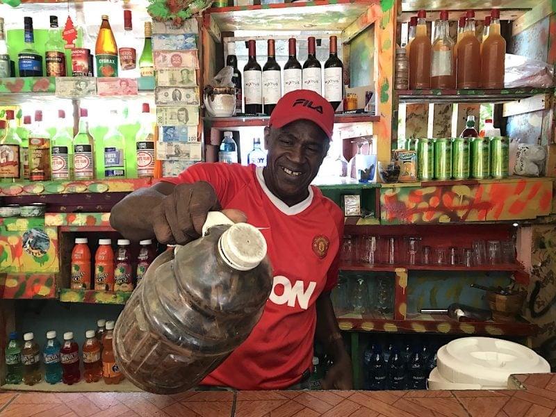 Rum Shop in Grenada