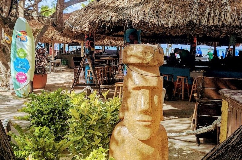 MooMba Beach Bar in Aruba Credit Sue Campbell
