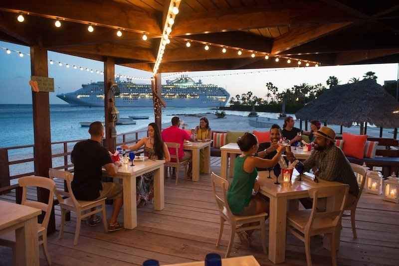 The West Deck Island Grill & Beach Bar