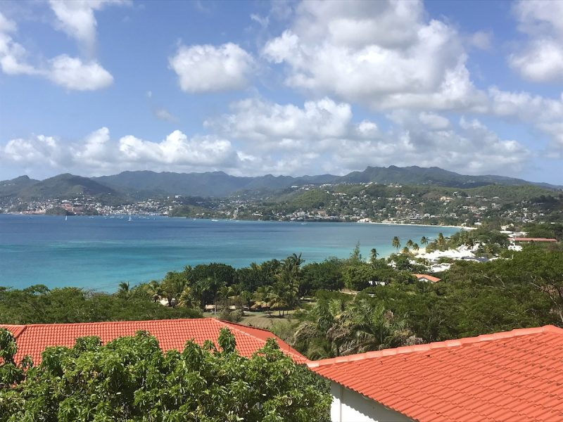 View from Mount Cinnamon Grenada