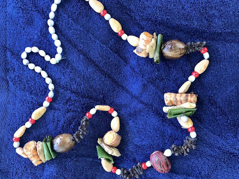 spice necklace on Grenada