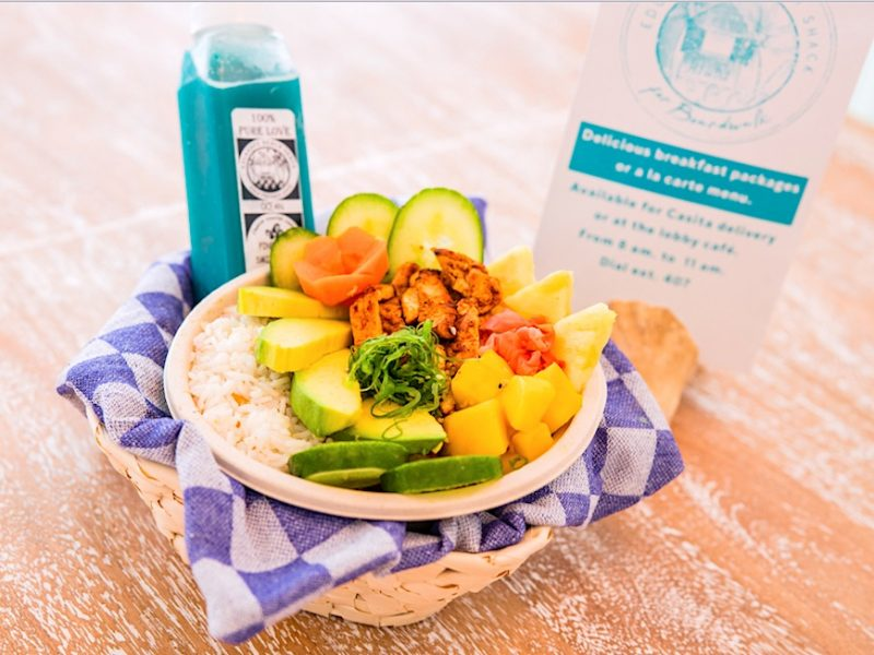 Healthy vegan breakfast Credit Boardwalk Aruba