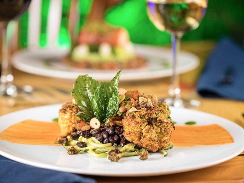 Be sure to try the cauliflower steak at Yemanja. Credit: Yemanja Woodfire Grill