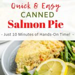 Canned Salmon Impossible Pie