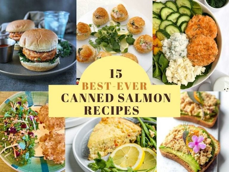 15 best canned salmon recipes