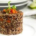Guatemalan black beans and rice recipe