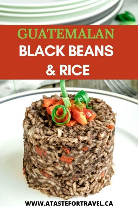 Guatemalan Black Beans and Rice Pinterest