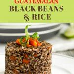 Guatemalan rice and beans B