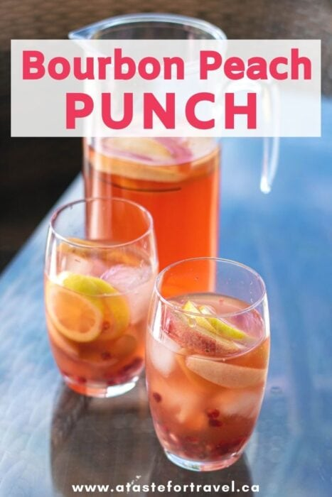 Bourbon Peach Punch Pinterest