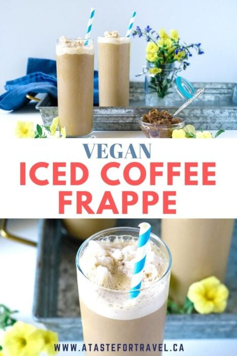Healthy Iced Coffee Frappe