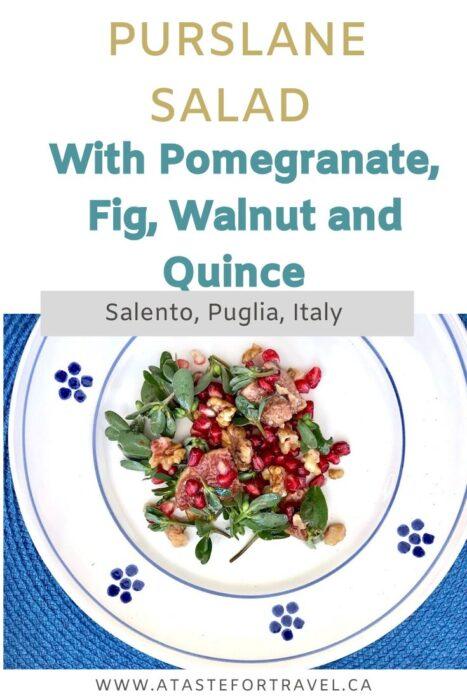 Verdolagas Salad