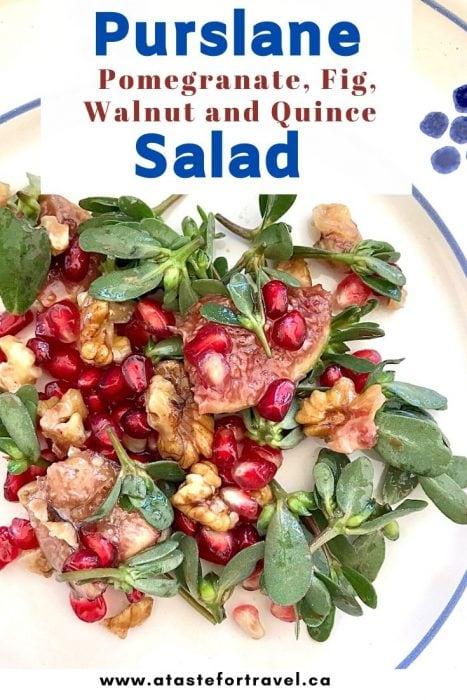 Italian Purslane Salad