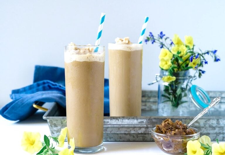 Vegan Iced Coffee Frappe