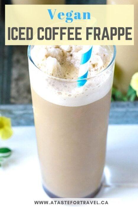 Vegan iced coffee pinterest