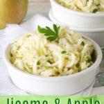 Green Apple and Jicama Coleslaw