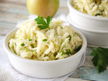 Jicama salad with apple