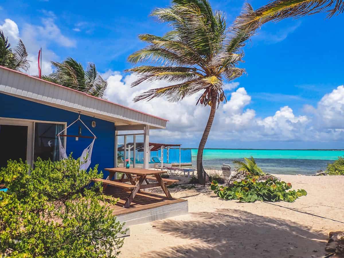 A beach cottage on the island of Bonaire. Credit Sorobon Beach Resort.