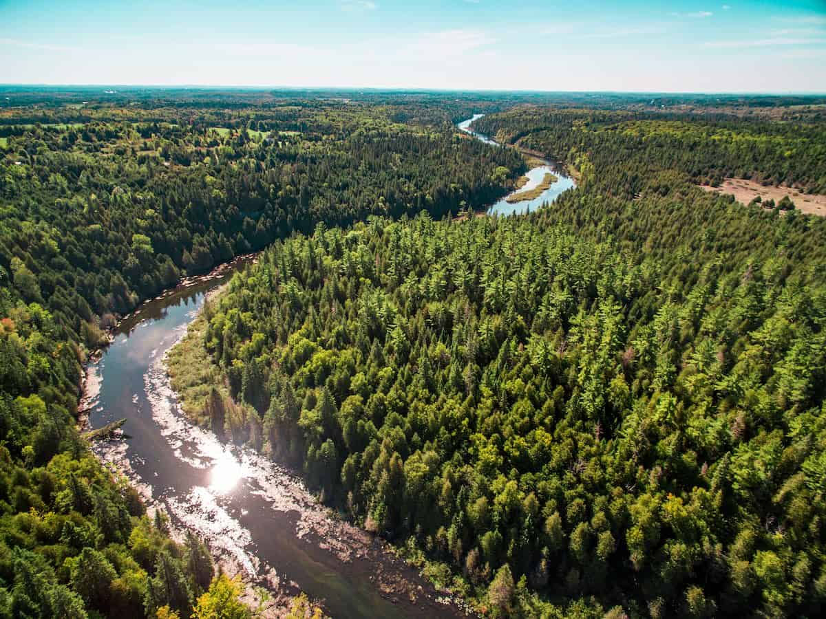 Warsaw Scenic Overlook Credit- Courtesy of Peterborough & the Kawarthas Tourism, Photo by Justen Soule.
